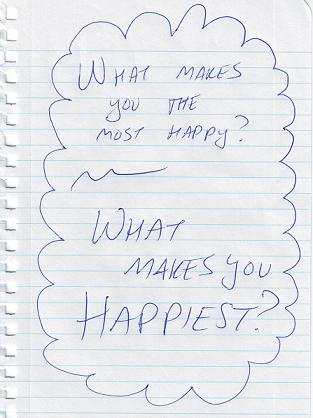 Dalai Lama happiness question